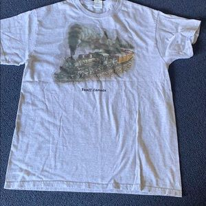 Grey graphic Canada T shirt